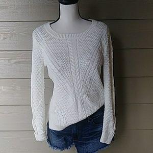 Hippie Rose Textured  knit sweater size medium